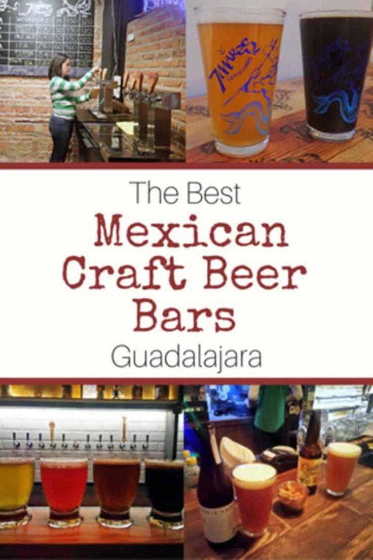 The Best Mexican Craft Beer Bars in Guadalajara