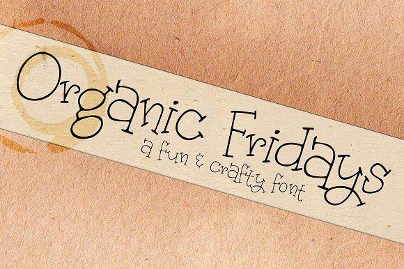 Organic Fridays by Brittney Murphy Design on @creativemarket