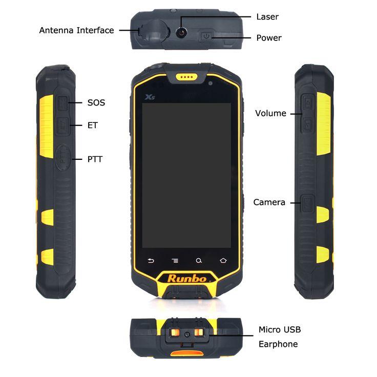 runbo x5 ip67 waterproof smartphone