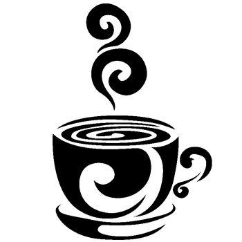 Adesivo Decorativo para Cozinha Xícara de Café 2