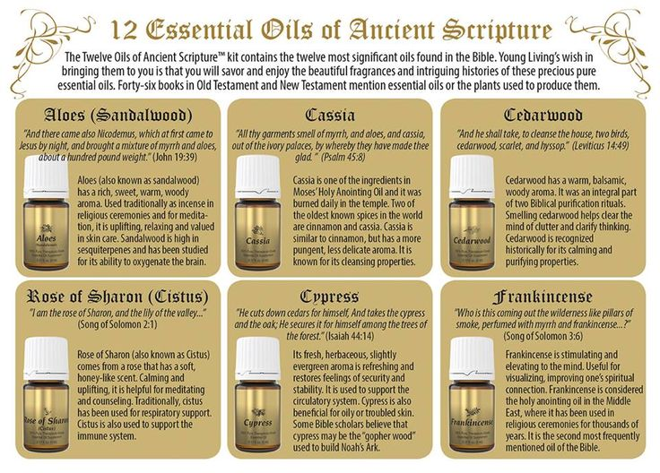 Young Living Essential Oils 12 Essential Oils of Ancient