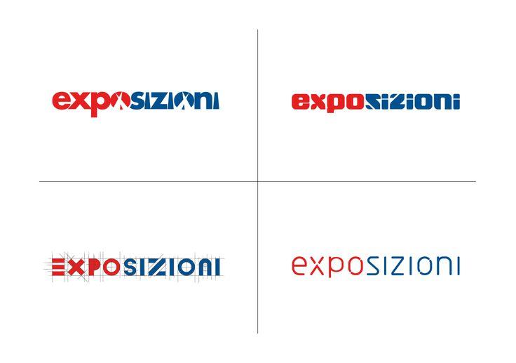 Exposizioni Logo #exhibition #graphic #logo www.exposizioni.com
