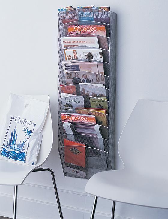 Wall Magazine Rack - Wall-mounted Magazine Rack - Hanging Magazine Rack - Wall Magazine Rack | HomeDecorators.com