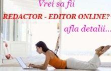 Redactori reviste online