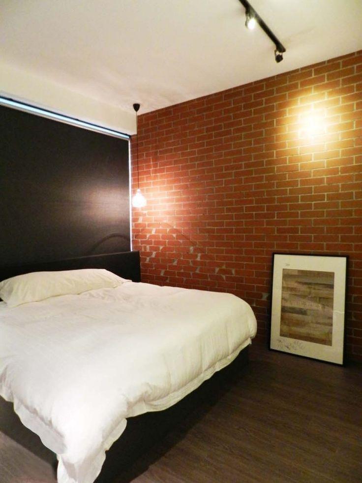 Dinding bata yang sebahagiannya terdedah | 8 Projek Diilhamkan Daripada Revolusi Industri