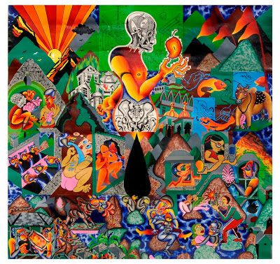 ARTIST ANIRBAN MITRA: OLD PAINTINGS PART 2 ( 2005 - 2006)