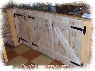 Meseház: Ajtók a konyhabútorra