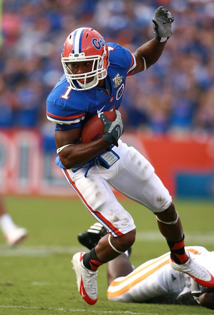 Percy Harvin // Florida Gators been agan since his Florida days track star turned football player.