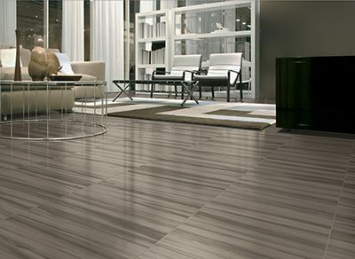 Versus produces a light, shading effect for porcelain tiles and has both a marble and wood look.