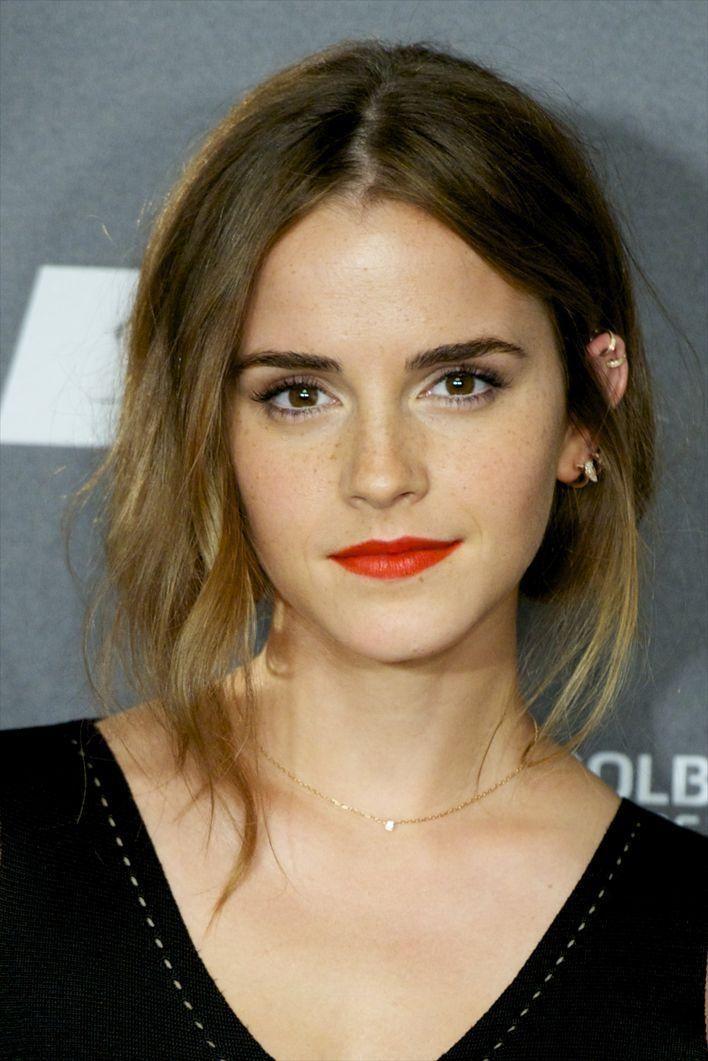 Weniger ist mehr: Emma Watson ist unser Beauty-Crush des Tages.