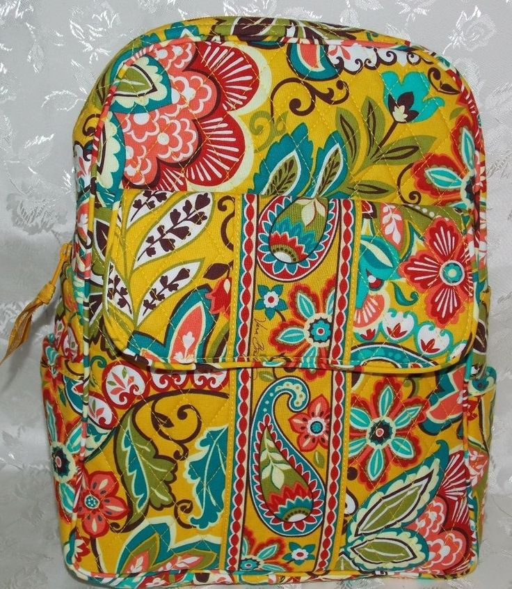 Vera Bradley Provencal Petite Backpack Bag NWT 10620-129 Retail $89 BIN $49.99 #VeraBradley #Backpack