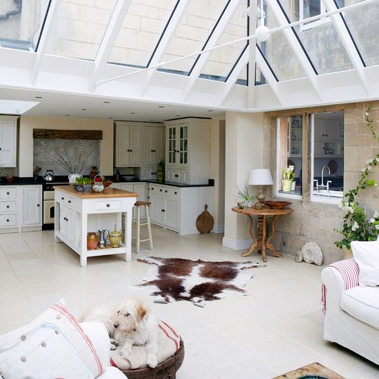 White Country Conservatory | Conservatory Decorating | Country Homes U0026  Interiors | Housetohome.co.