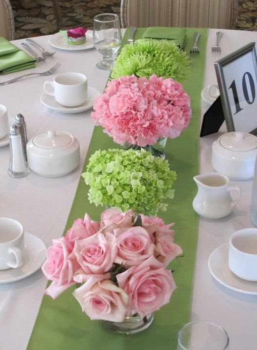 Bridal shower i 39 m going to need to have this wedding Wedding shower centerpieces