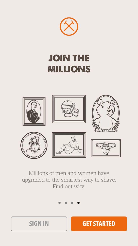 Dollar Shave Club, onboarding
