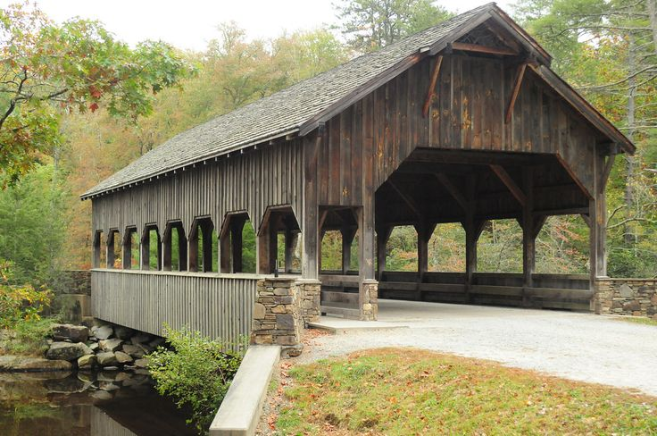 Covered Bridge in Dupont State Park