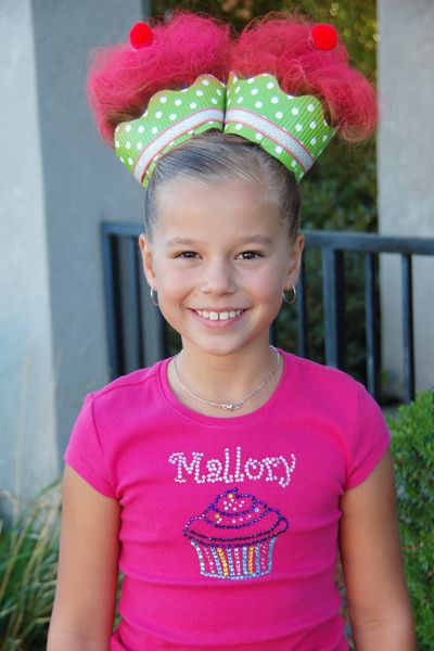 crazy hair day: School Picture Day Hairstyles, Crazy Hair Day Girl, Cupcake, Crazy Hair Days, Costume, Crazyhair, Crazy Hair Day Hairstyles, Kids Picture Day Hairstyles, Amazing Ideas