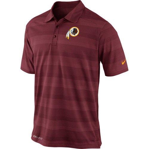 Washington #Redskins Nike FB Preseason Polo. Click to order ...