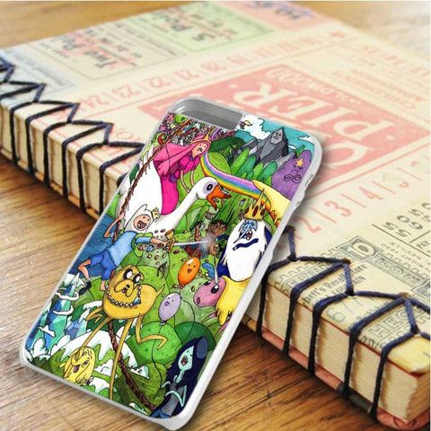 Adventure Time Coloring iPhone 6 Plus iPhone 6S Plus Case