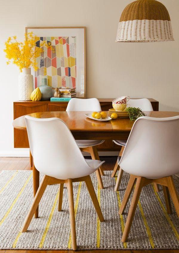 25 beste idee n over witte stoelen op pinterest for Witte keukenstoelen