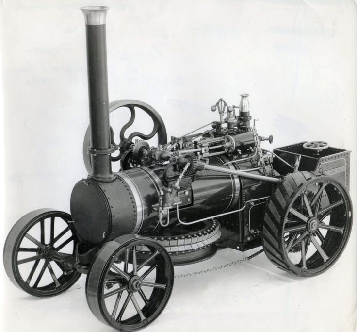 Kitson and Hewittson slanting shafter ploughing engine 1850s