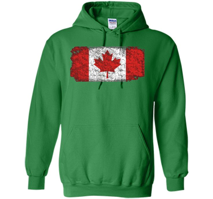 Worn Out Canada Flag T-shirt for Canada Day