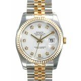 Rolex Oyster Perpetual Datejust 18K GOLD Replica Watch 116233