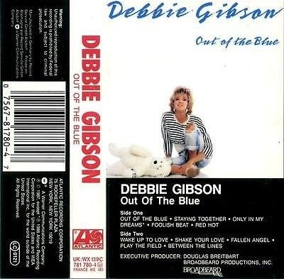DEBBIE GIBSON - Out Of The Blue (1987)