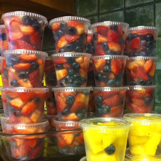 Great idea to take as a team snack or to a class party. Could even prepare a few of these at the start of the week to have on hand for breakfast, school lunches, etc.