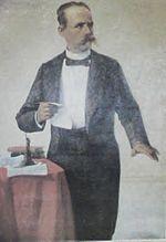 Dr. José Gualberto Padilla (July 12, 1829 – May 26, 1896), also known as El Caribe, was a physician, poet, journalist, politician, and advocate for Puerto Rico's independence. He suffered imprisonment and constant persecution by the Spanish Crown in Puerto Rico because his patriotic verses, social criticism and political ideals were considered a threat to Spanish Colonial rule of the island.