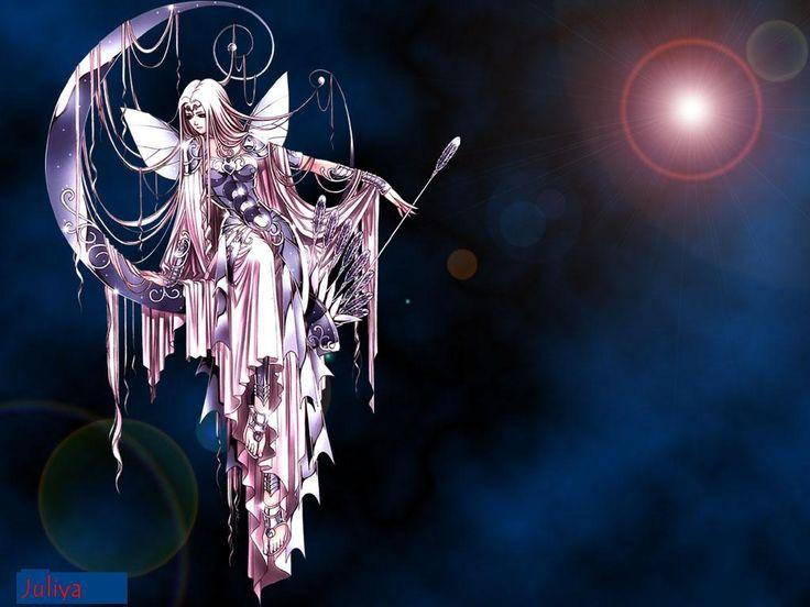 Pin By Tami Ledbetter On Fantasy Fairy Wallpaper Moon Fairy Anime Fairy
