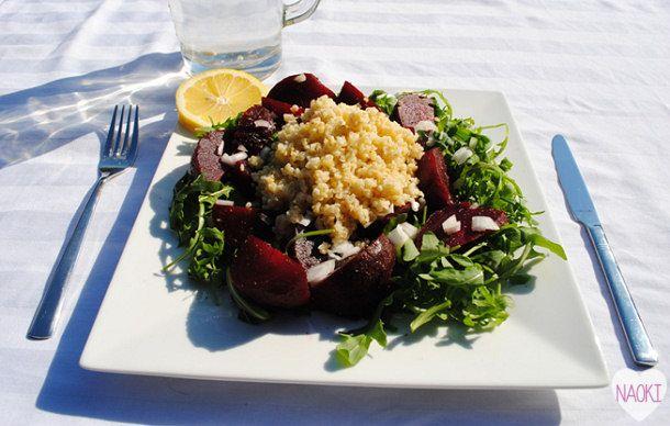 Recept: Bietensalade met bulgur