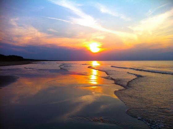 Shoreline: PEI Summer Sunset