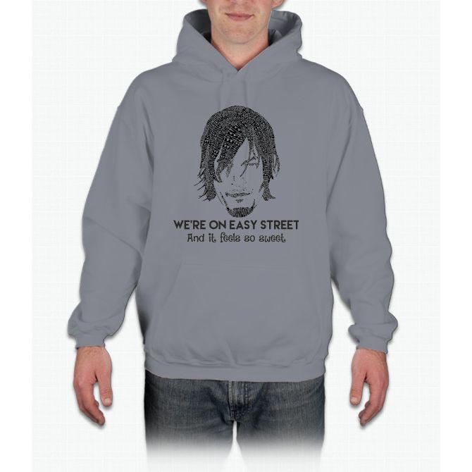 TWD - Daryl: We're On Easy Street Hoodie