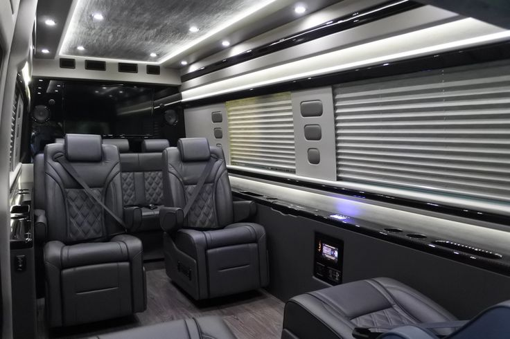 11 best luxury executive van conversion images on for Mercedes benz conversion van