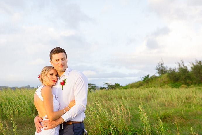 Outrigger Fiji Beach Resort Wedding Photography Outdoors Nature Wilderness Style Tropical Green Grassland Groom Bride Flowers Style Elegance Ideas Planning Planner