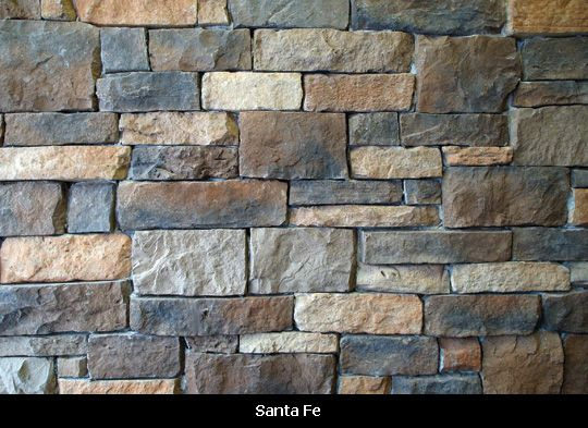 Exterior Stone Santa Fe I Like The Grey And Brown