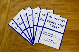 AI WEIWEI CUBES AND TREES - THE HEONG GALLERY AT DOWNING COLLEGE