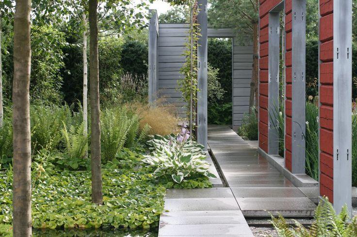 Stil & Funktion - Minimalistisk trädgård