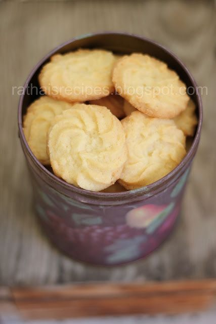 Rathai's Recipes: Butter cookies