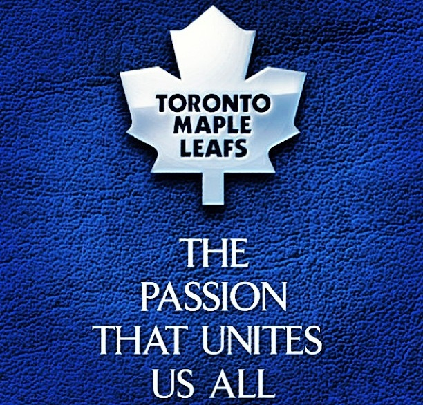 My family has been Leafs fans for generations and we bond by watching their games together.