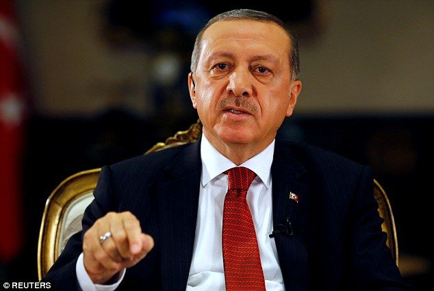 The demand was made amid growing unease over Turkish President Recep Tayyip Erdogan's 'increasingly authoritarian regime' in the country