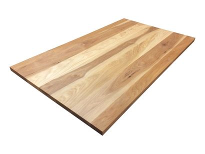 Custom order your Hickory Tabletop with Armani Fine Woodworking. Made with hand selected planks of Solid Calico Hickory