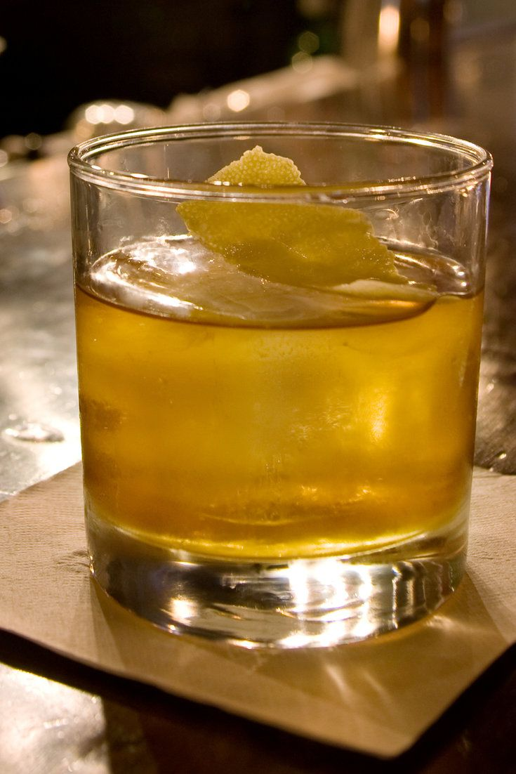 NYT Cooking: One of the most venerable of whiskey-based cocktails, the old-fashioned has a history that stretches back farther than the martini's. For decades it has suffered under the reputation of something your grandmother drank — overly sweet, fruit-laden and spritzed-up. But grandma wouldn't recognize what's happened to it lately.