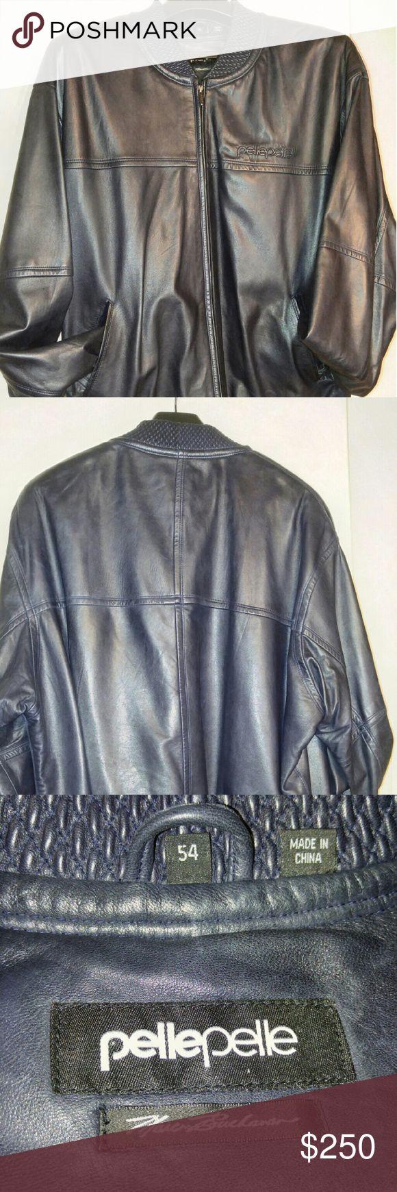 Leather Pelle Jacket Best Offer Navy Blue Pelle Jacket Pelle Pelle Jackets & Coats Bomber & Varsity