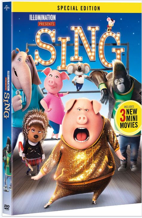 SING Special Addition Arrives On DVD This March Kid MoviesFamily
