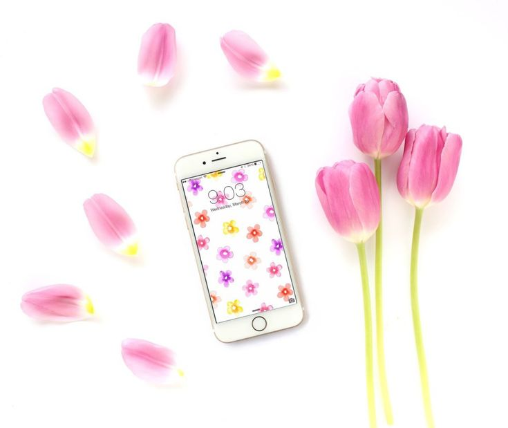 A great collection of 24 beautiful and free wallpapers and backgrounds for your iPhone, Android, or smart phone. Perfect for spring!