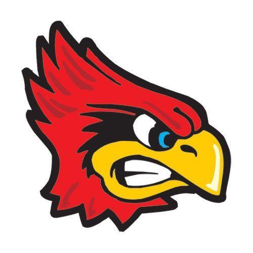 12 - Cardinal Temporary Tattoos Go Cardinals Face Tats