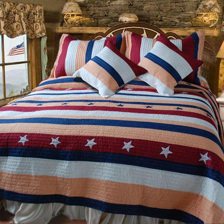 Patriotic Quilt Set