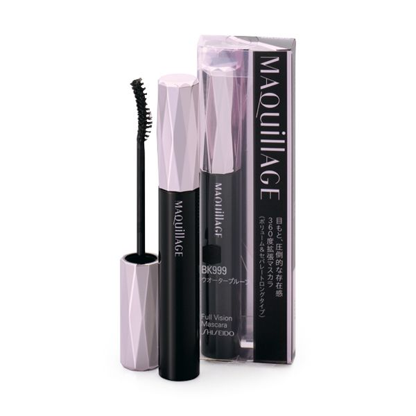 www.BonBonCosmetics.com - SHISEIDO MAQuillAGE Full Vision Mascara ~ BK999, $36.99 (http://www.bonboncosmetics.com/shiseido-maquillage-full-vision-mascara-bk999/)
