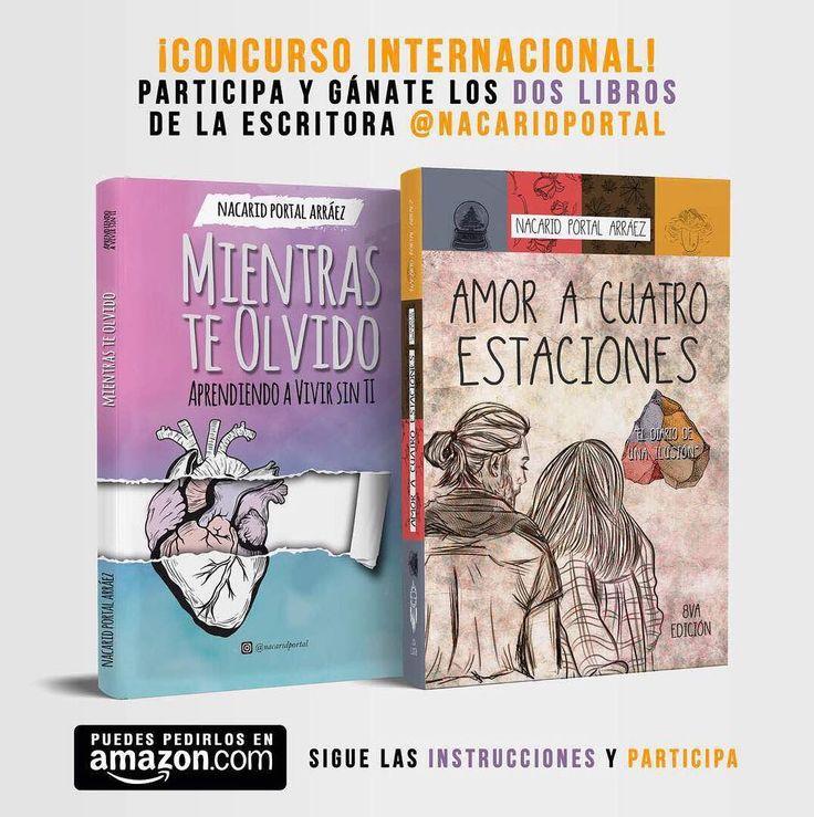 """CONCURSO INTERNACIONAL! Por los libros: amoracuatroestaciones 🌎 ➖ Participa y podrás ganar el libro @amoracuatroestaciones o @mientrasteolvido ¡Es súper fácil, mira los pasos!  1.- Debes seguir a la cuentas patrocinantes: ⬇  @nacaridportal @mientrasteolvido @amoracuatroestaciones  @edicionesdejavu  @nacaridportalcluboficial @accionpoeticaccsoficial  2.- Cuando hayas seguido a cada una de las páginas comenta """"Listo"""" seguido de tu país y  etiqueta a 3 amigos.  3. Subscríbete al canal de…"""
